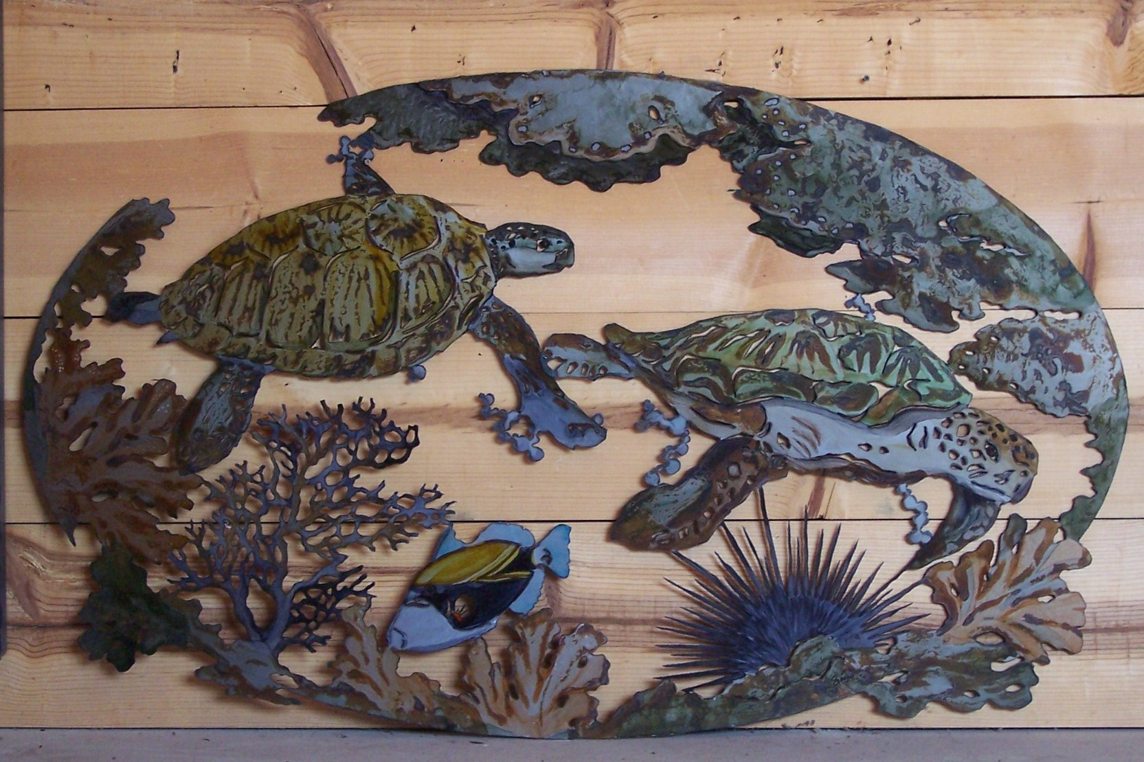 Silhouwest Originals Metal Art By Leslie Souza Tropical Art